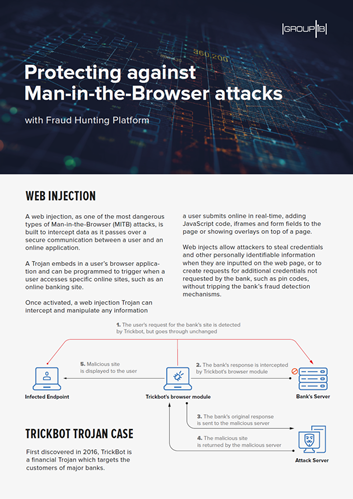 Protecting Against Man-in-the-Browser Attacks with Fraud Hunting Platform