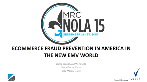eCommerce Fraud Prevention in America in the New EMV World
