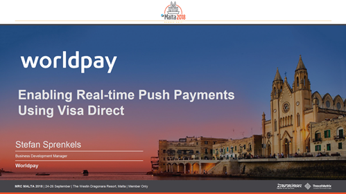 Enabling Real-time Push Payments Using Visa Direct