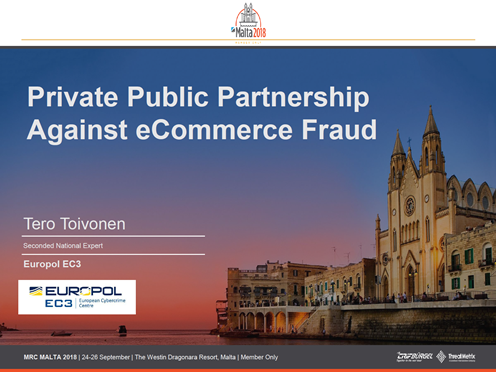 Private Public Partnership Against eCommerce Fraud
