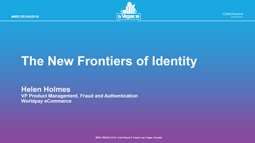 The New Frontiers of Identity