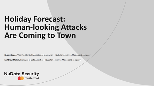 Holiday Forecast: Human-looking Attacks are Coming to Town