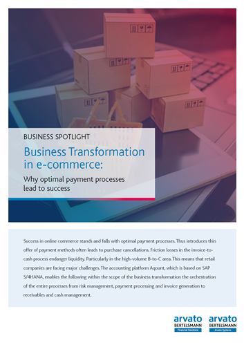 Business Transformation in eCommerce: Why Optimal Payment Processes Lead to Success