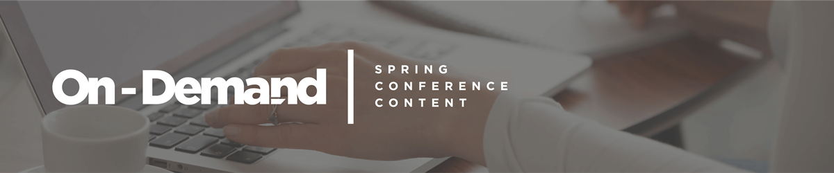 MRC On-Demand Spring Conference Content