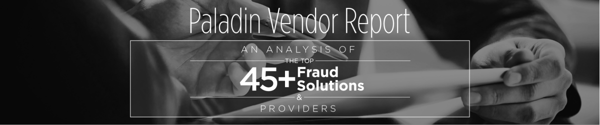 Paladin Group Vendor Report 2018