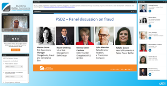 PSD2 Panel Discussion on Fraud
