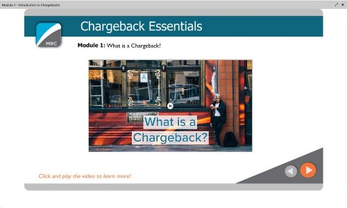 MRC RAPID Edu Chargeback Essentials