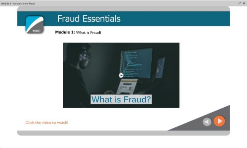 MRC RAPID Edu Fraud Essentials