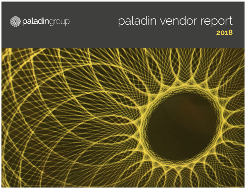 Paladin Group Vendor Report 2018 cover