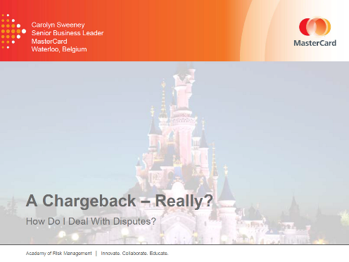 A Chargeback - Really?