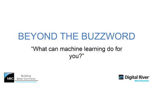 what can you do with machine learning
