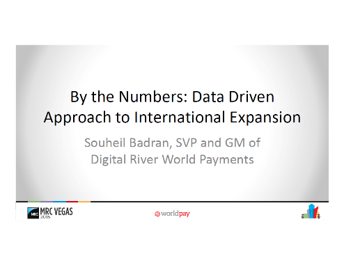 By the Numbers Data Driven Approach to International Expansion