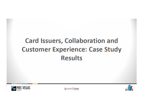 Card Issuers Collaboration and Customer Experience Case Study Results