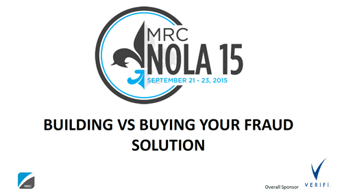 Building vs. Buying Your Fraud Solution