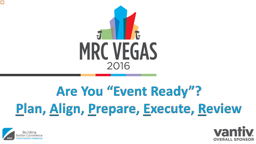 "Are You ""Event Ready?"" - Plan, Align, Prepare, Execute, Review"