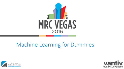 Machine Learning for Dummies | MRC