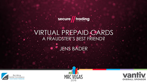 Virtual Prepaid Cards -- A Fraudster's Best Friend?