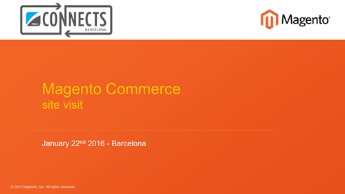 MRC Connects - Magento Barcelona Networking Event
