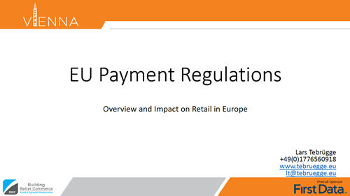 EU Payment Regulations - Overview and Impact on Retail in Europe
