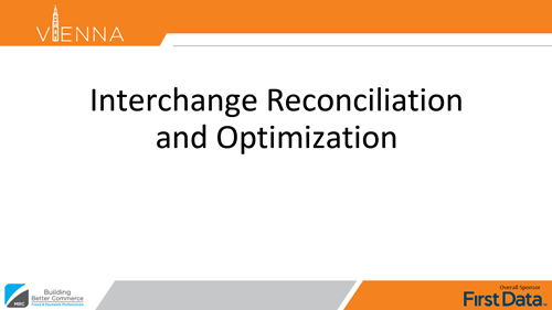 Interchange Reconciliation and Optimization