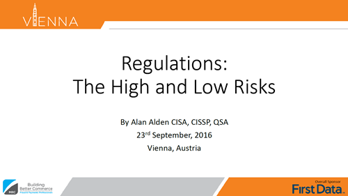 Regulations: The High and Low Risks