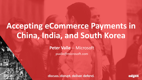 Accepting eCommerce Payments in China, India, and South Korea