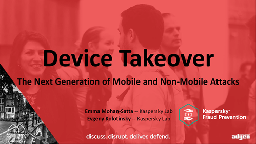 Device Takeover: The Next Generation of Mobile and Non Mobile Attacks