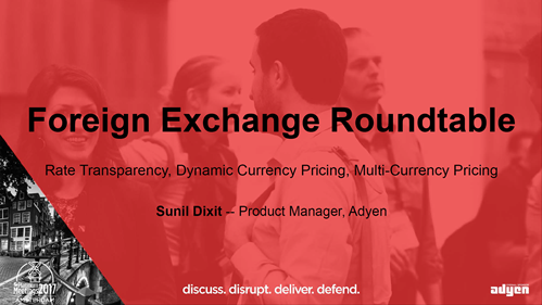 Foreign Exchange Roundtable