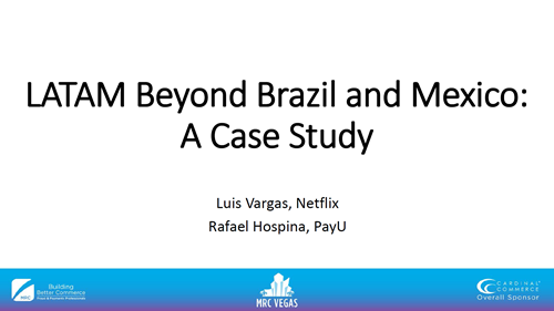 LATAM Beyond Brazil and Mexico: A Case Study