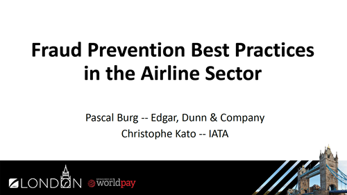 Fraud Prevention Best Practices in the Airline Sector