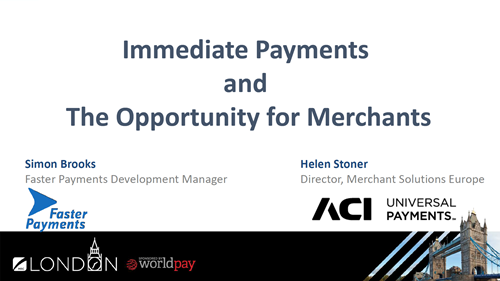 Immediate Payments and The Opportunity for Merchants