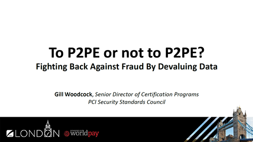 To P2PE or not to P2PE? Fighting Back Against Fraud by Devaluing Data