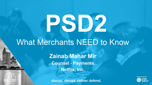 PSD2 -- What Merchants NEED to Know