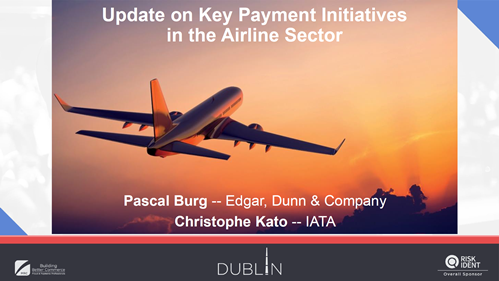 Update on Key Payment Initiatives in the Airline Sector