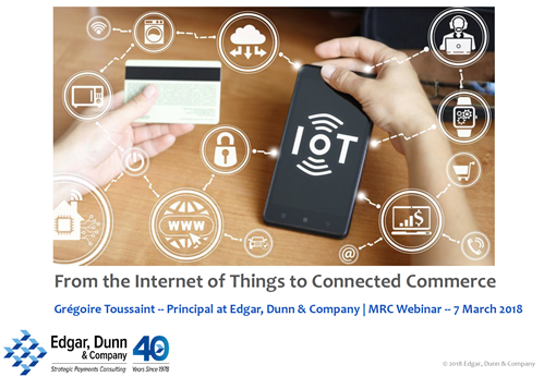 From the Internet of Things to Connected Commerce