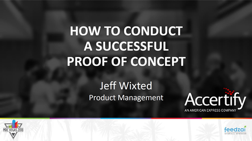 How to Conduct a Successful Proof of Concept