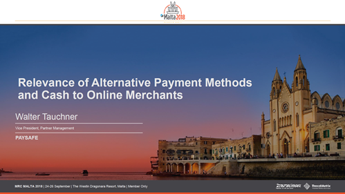 Relevance of Alternative Payment Methods and Cash to Online Merchants