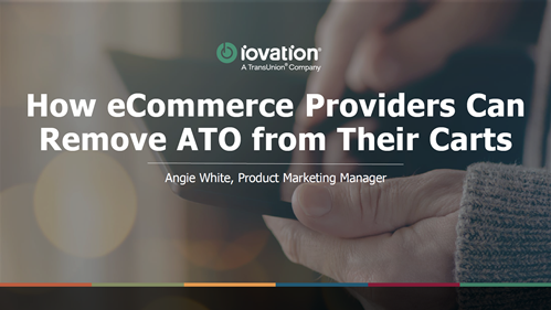 How eCommerce Providers Can Remove ATO from Their Carts