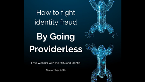 How to Fight Identity Fraud by Going Providerless