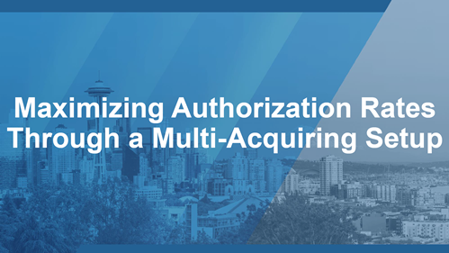 Maximizing Authorization Rates Through a Multi-Acquiring Setup
