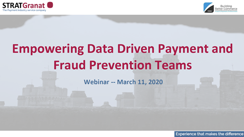 Empowering Data Driven Payment and Fraud Prevention Teams
