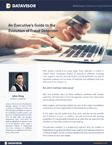 An Executives Guide to the Evolution of Fraud Detection