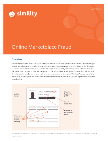 Online Marketplace Fraud