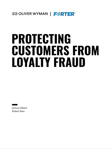 Protecting Customers from Loyalty Fraud