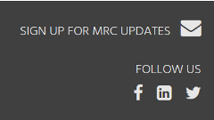 Sign Up for MRC Updates