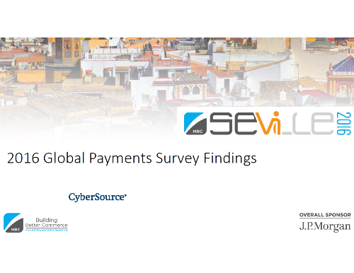 2016 Global Payments Survey Findings